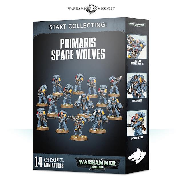 Start Collecting Lobos Espaciales Primaris
