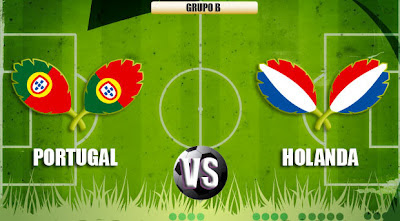 Portugal vs Holanda en vivo