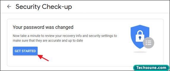 تغيير كلمة المرور Gmail 4