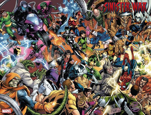 Marvel revela la portada de Mark Bagley para Sinister War