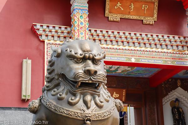 噶瑪噶居寺|台南左鎮藏傳佛教聖地|藝術殿堂|叢林道場雄偉建築