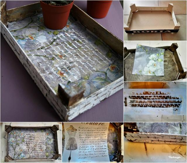 ideas para decorar y reciclar cajas de fresas
