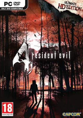 Capa do Resident Evil 4 PC