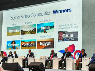 4- India wins 'Best Video' award in UNWTO Tourism Video Competition 2019