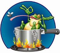 A boiling frog