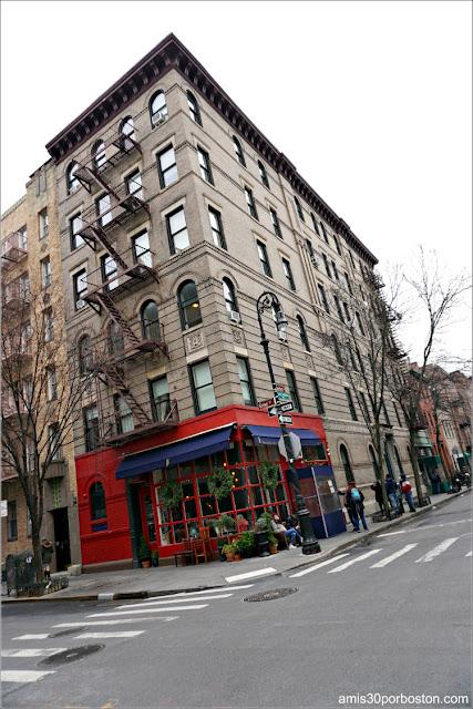 Edificio de la Serie Friends en Nueva York