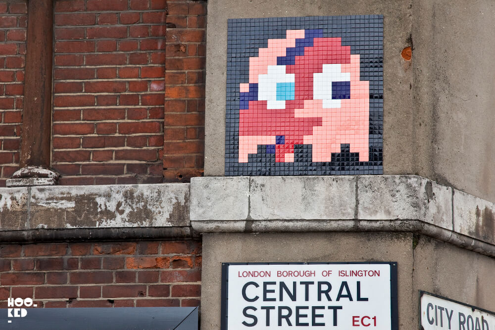 London Street Art with French street artist Invader