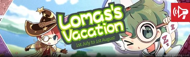 WARRZ GAMING: Ragnarok M: Eternal Love - July Event: Lomas's