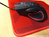 Mysz i podkładka Gaming Set XR Hykker z Biedronki