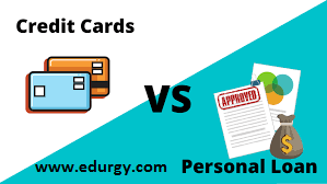 Personal Loans vs. Credit Cards: What's the Difference ?