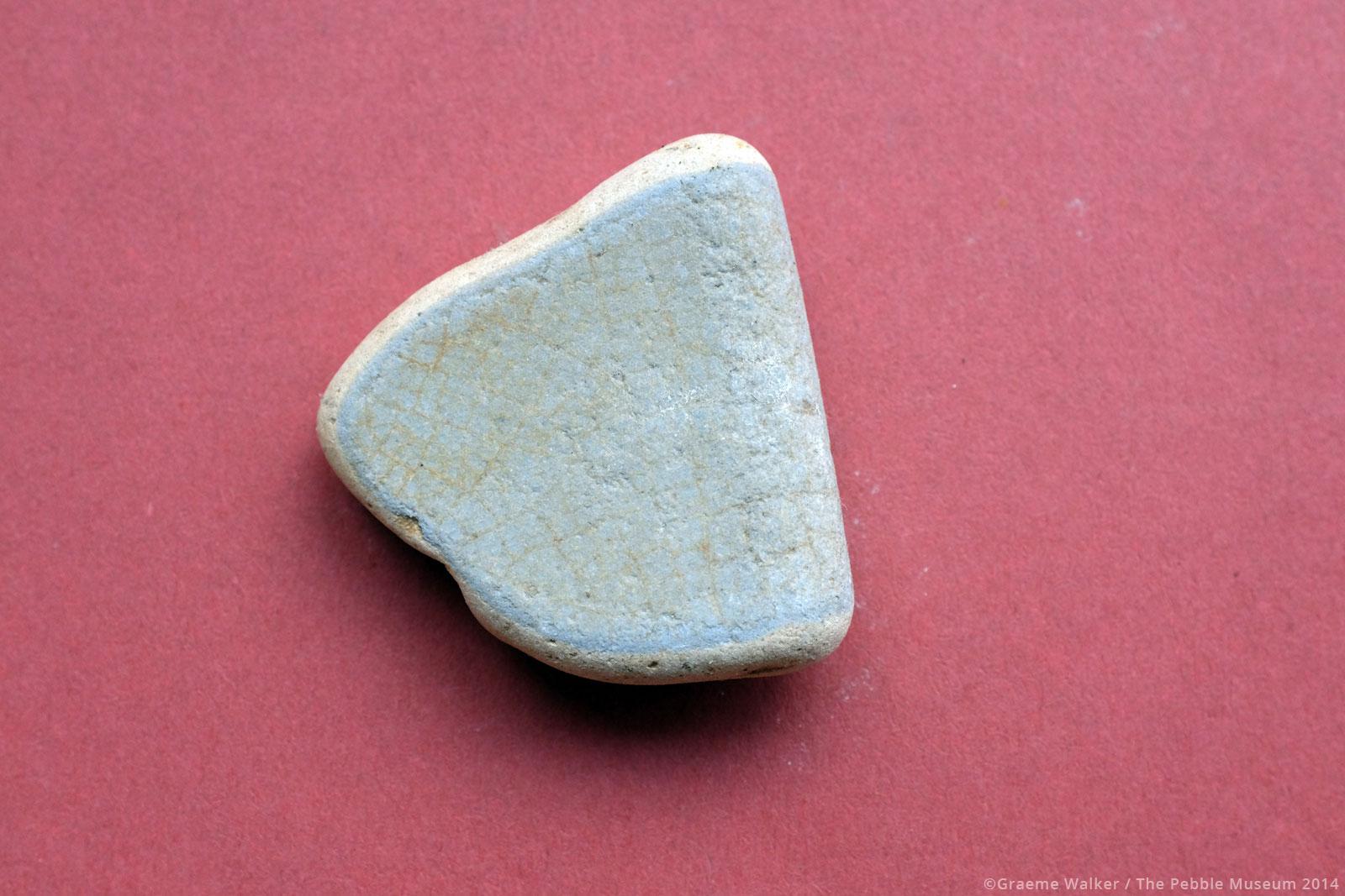 Pale Blue Ceramic © Graeme Walker / The Pebble Museum 2019
