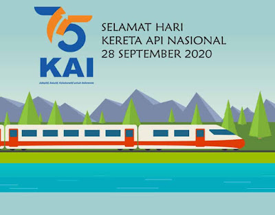 ucapan hari kereta api nasional 2020