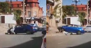 Γυναίκα ζήτησε διαζύγιο από τον σύζυγο της και αυτός την πάτησε με το αμάξι - ΒΙΝΤΕΟ