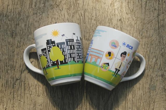 Mug, Media Promosi untuk Perusahaan, Juga Dijadikan Souvenir untuk Pernikahan