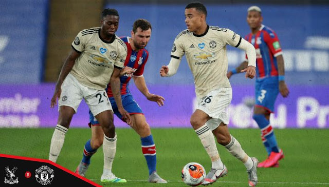 Crystal Palace vs Manchester United 0–2 Highlights