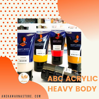 jual abc acrylic paints 30ml