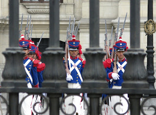 Changing of the Guard - Lima - Peru