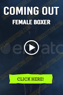 Coming Out Female Boxer Which Has Muscular Body - Stock Video - Stock Footage