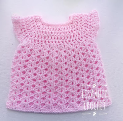 free croche tpattern baby dress