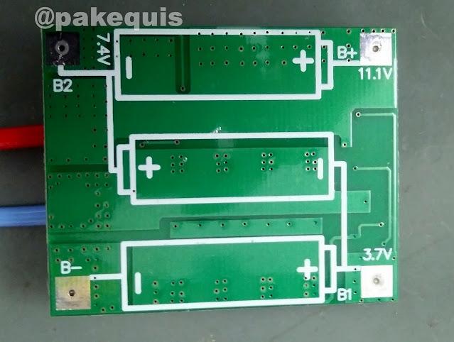 Placa BMS 12V 3S7P