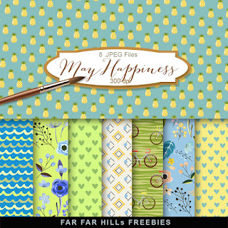 New Freebies Kit - May Happiness