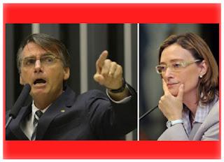 Bolsonaro vai ter que indenizar a deputada Maria do Rosário
