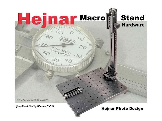 Hejnar Macro Stand Catalogue cover