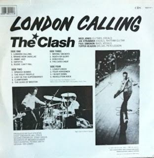 The Clash - London Calling (Contraportada)