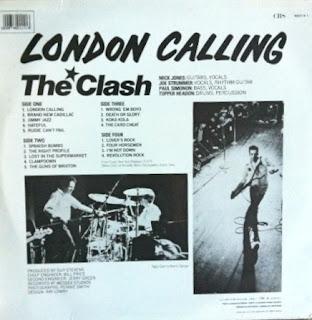 The Clash - London Calling (Contraportada)