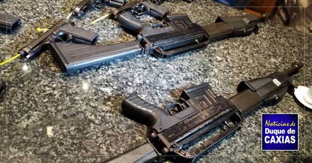 Polícia Rodoviária Federal doa armas para a Guarda Municipal de Duque de Caxias