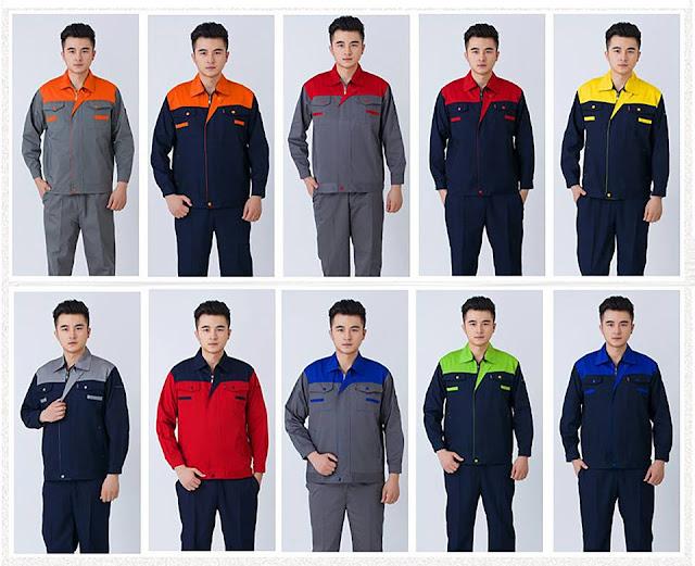 Các mẫu đồng phục công nhân