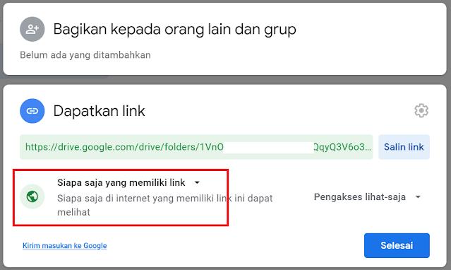Cara Mengatur Agar File di Google Drive Bisa Diakses Oleh Semua Orang atau Hanya Sebagian Orang Saja