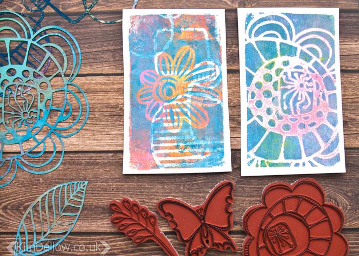 Kim Dellow's Favourite products March 2017: PaperArtsy Eclectica³ {Kim Dellow} Stamp And Stencil