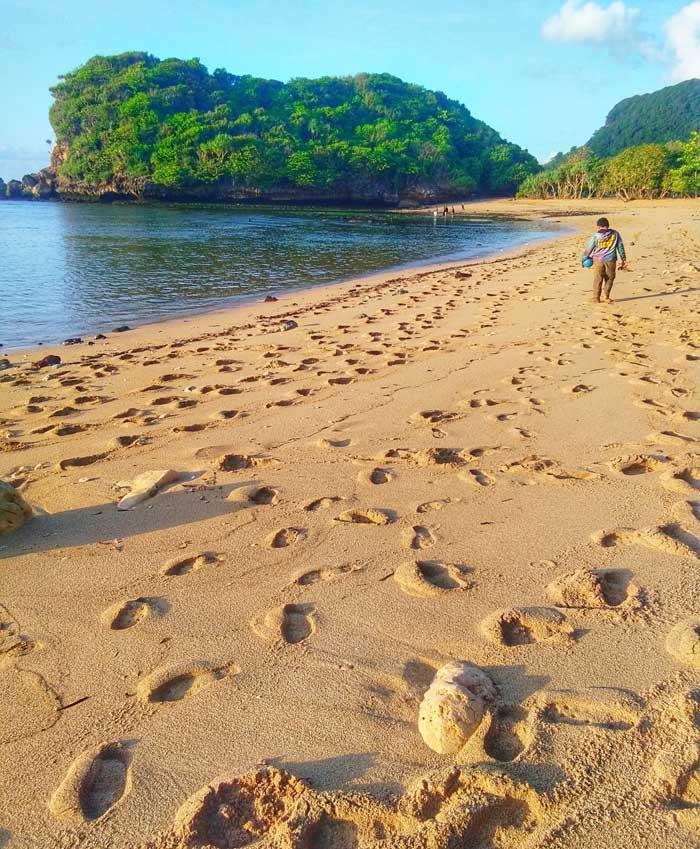 Teluk Asmara Malang : teluk, asmara, malang, Pantai, Teluk, Asmara, Malang, Fasilitas,, Harga, Tiket, Masuk,