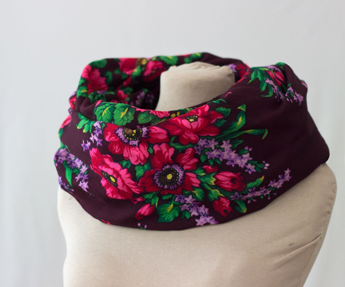 Mulberry Whisper: Russian Scarves on Sale in Our Etsy Shop!