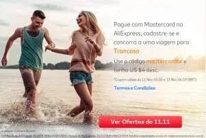 Cadastrar Promoção AliExpress Mastercard Viagem Trancoso