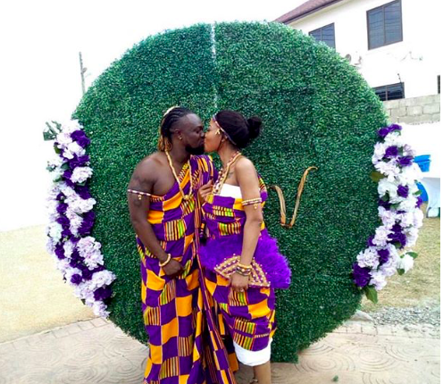 Photos from actor Eddie Nartey's traditional marraige