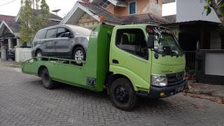 kirim mobil pakai truk gendong