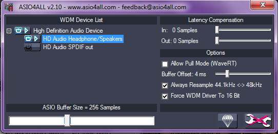 USB Audio ASIO Driver - Free download and software reviews