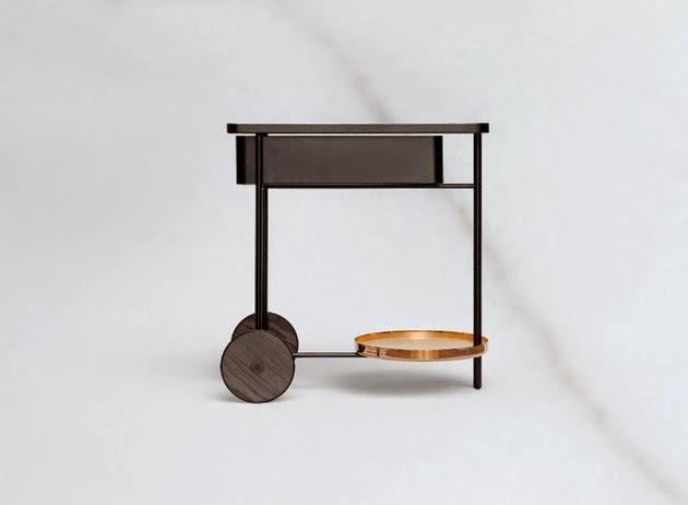 Desain Dapur Ebonit dengan Tema Tradisional
