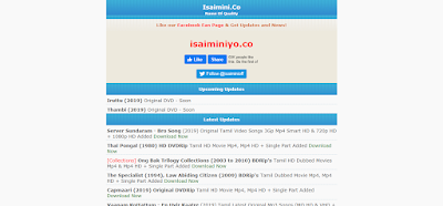 isaimini Tamil Movies Download Website