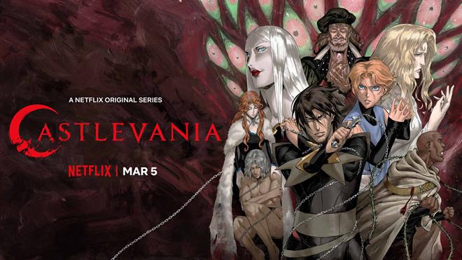 póster de la cuarta temporada de Castlevania