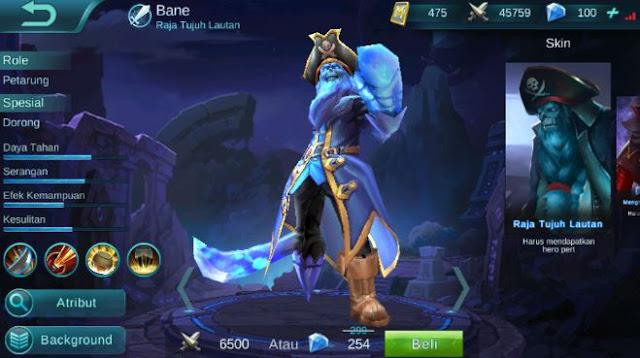 Build Item Gear dan Emblem Set Bane Terkuat di Mobile Legends