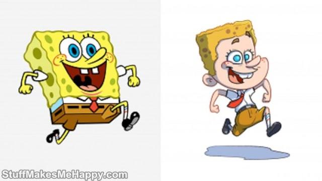 This Illustrator Adapts the Characters Of Spongebob SquarePants Into Humans