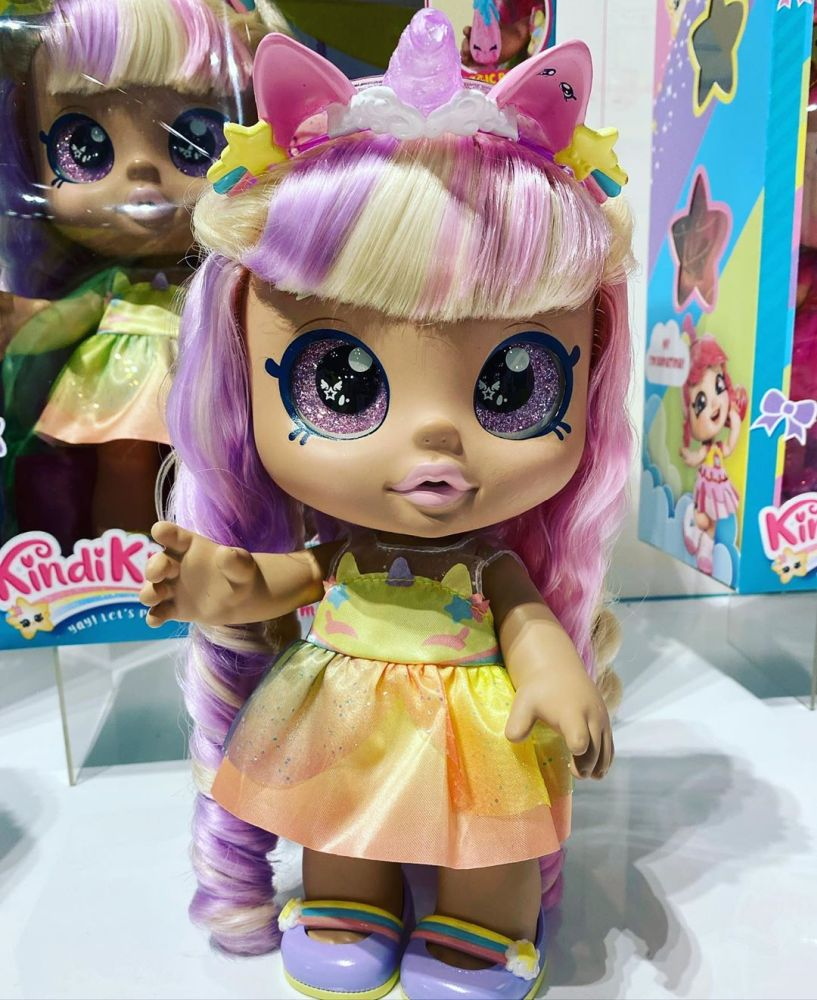 Кукла единорог Кинди Кидс