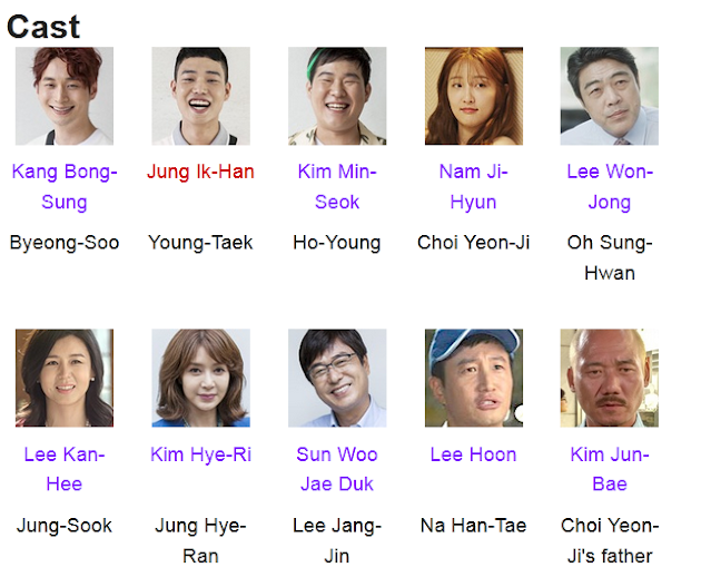 Strongest Deliveryman K-Drama Cast
