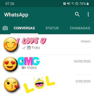 Criando lista de transmissão no Whatsapp