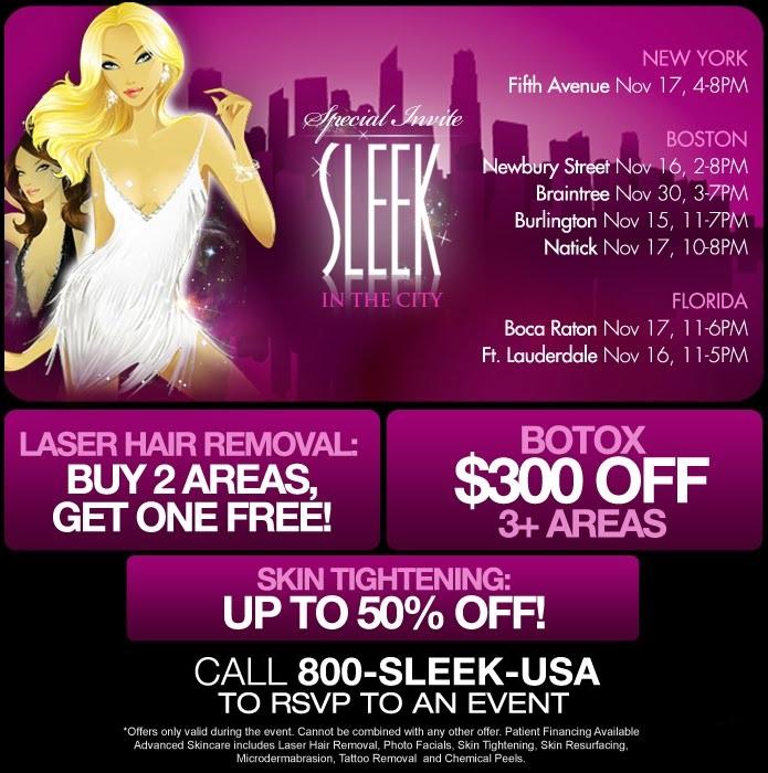 Sleek Surgical & MedSpa: November 2011