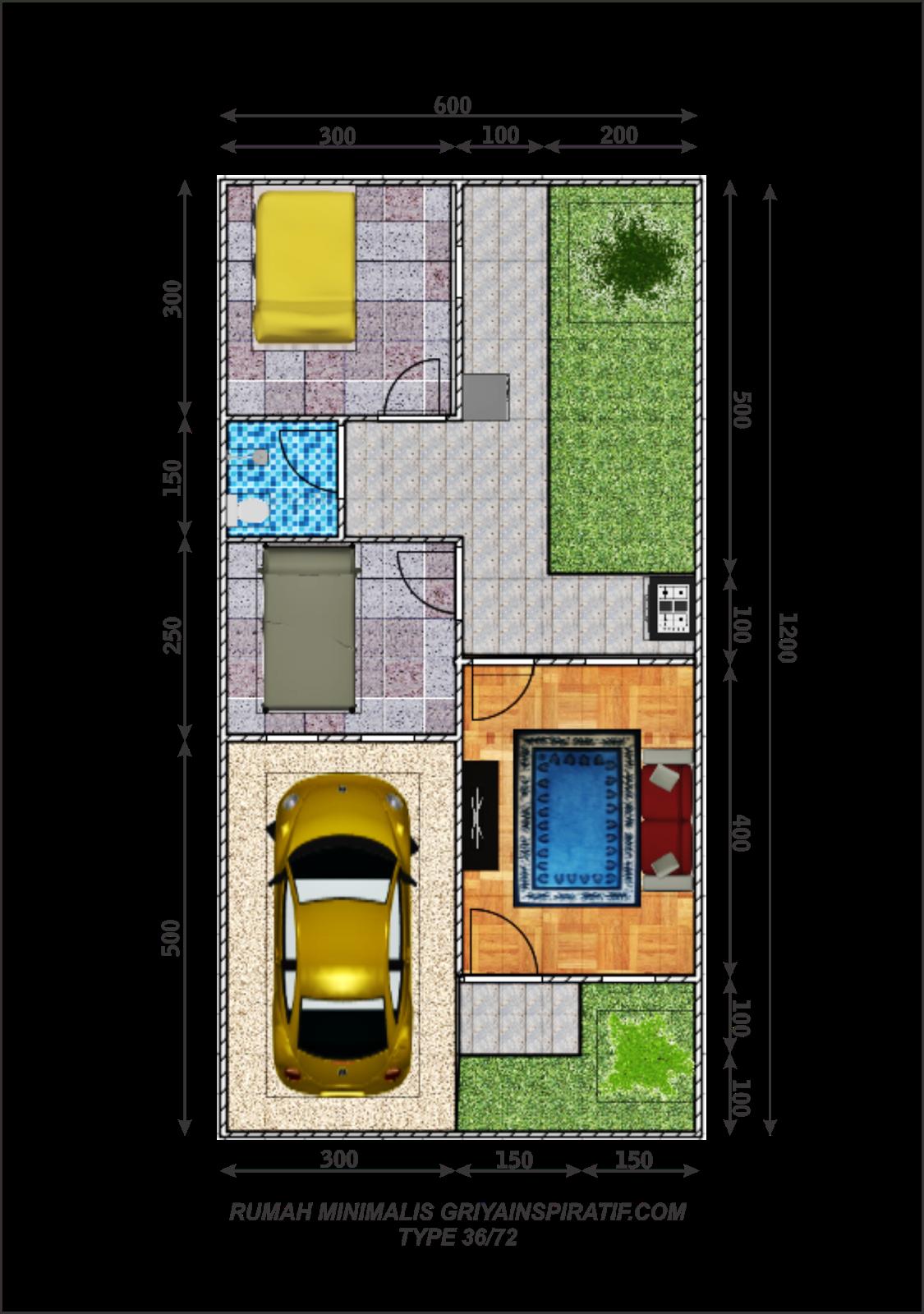 67 Desain Rumah Minimalis Type 36 72 Desain Rumah Minimalis Terbaru