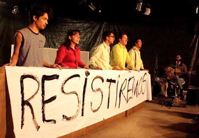 Grupo Pandora de Teatro estreia COMUM na Ocupação Artística Canhoba, sua sede em Perus.